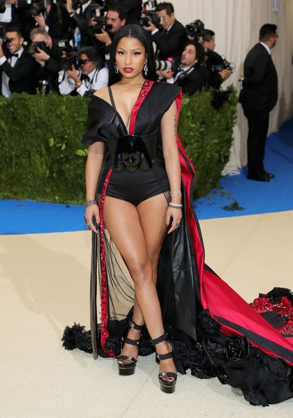 Nicki Minaj - Every Daring Look on the 2017 Met Gala Red Carpet - Photos