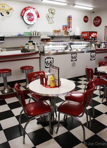 Vintage Diner Decor Enchanting Best 25