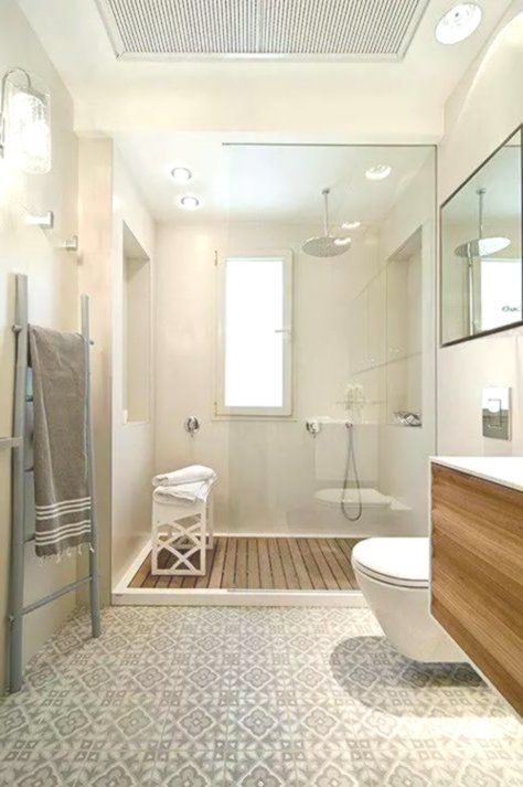 Fliesen Deko Ideen Modernes Badezimmer Interieur Mit Holz Grosse