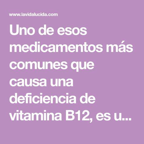 vitamina b12 diabetes metformina
