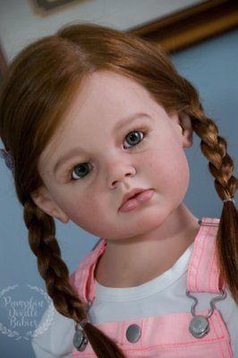 Child Size Reborn Doll Baby Girl Angelica By Reva Schick Mannequin Rooted Hair Reborn Dolls Reborn Toddler Dolls Reborn Babies