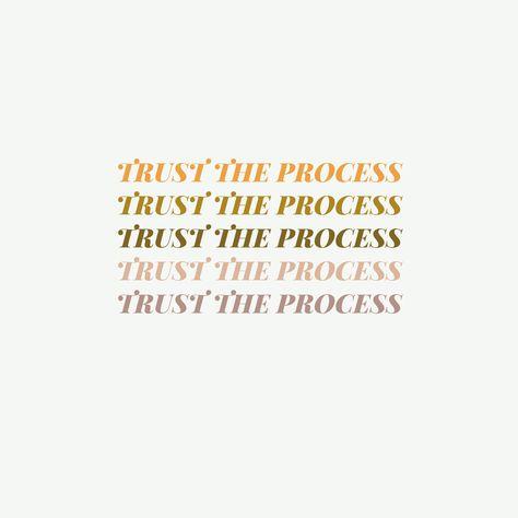 Trust the Process Art Print - 11x14 inch