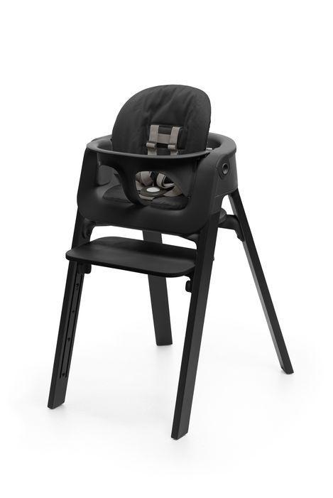 Nouveau Coussin Noir Pour Chaise Haute Stokke Steps Baby
