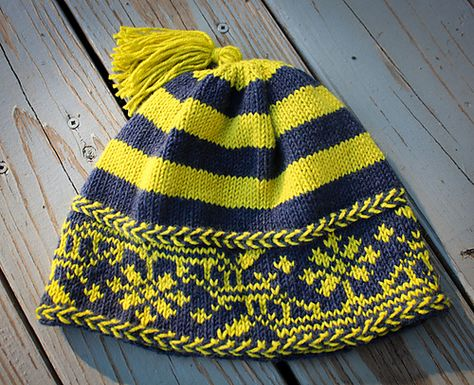 Ravelry: Retro Norwegian Hat pattern by Tanis Gray - free pattern