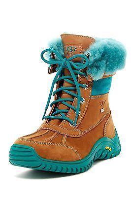 UGG AUSTRALIA ADIRONDACK Tall Women's Boots (Size 6.5) Black