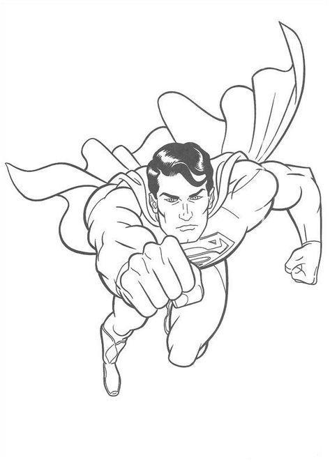 315 Kostenlos Ausmalbilder Superman Färbung