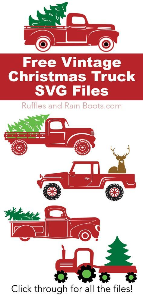 Christmas Truck Svg Free : christmas, truck, Christmas, Truck, Files, Files,, Cricut, Projects, Vinyl,
