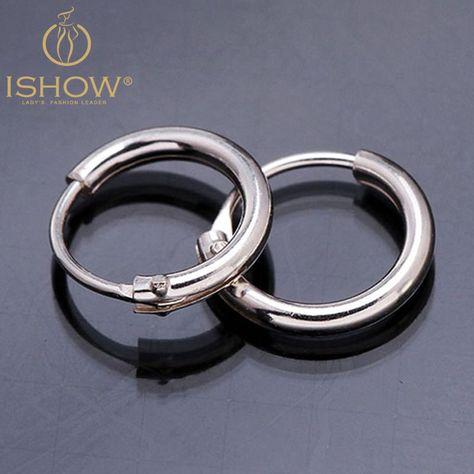 Pair 925 Sterling Silver 12mm Bali Hoop Sleeper Earrings Design 23