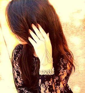 Pin On Girl Hiding Face