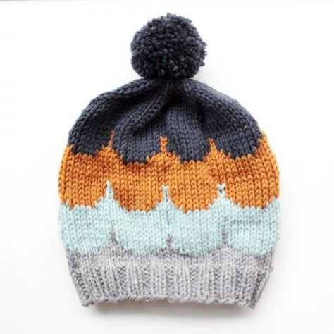Ice-cream hat with free pattern