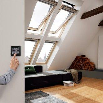 Velux Integra Dachfenster Ggl 306621 Elektrofenster Holz Kiefer Energie Plus Fenster Dachfenster Dachflachenfenster Fenster Holz