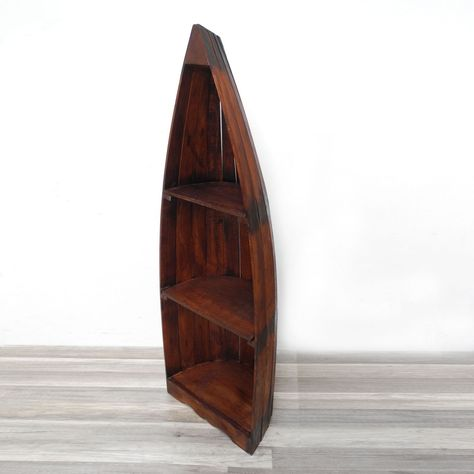 Bootsregal Bucherregal Boot Regal Schiff Schrank 145cm Asien