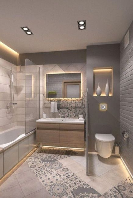15 Trendy Ideas For Bathroom Remodel With Tub Inspiration Paint Colors Lavatory Design Bathrooms Remodel Bathroom Remodel Master