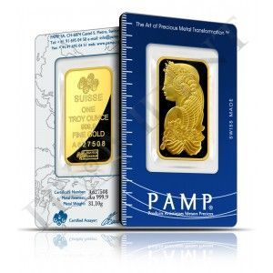 1 Oz Pamp Suisse Gold Bar 9999 Fine Bullion Fortuna Bars Are Available Now Goldinvestment Gold Bullion Coins Gold Bar Bullion