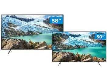 Combo Smart Tv 4k Led 58 50 Samsung Wi Fi Bluetooth Hdr 3 Hdmi 2 Usb Magazine Lua09 Em 2020 Smart Tv Smart Tv 4k Samsung