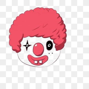 Clown Clown Clipart Character Png And Vector With Transparent Background For Free Download Clown Faces Clown Face Paint Cute Clown Makeup
