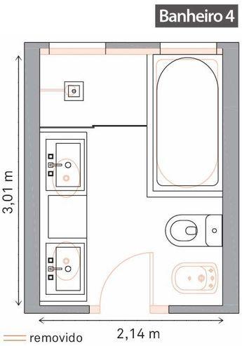 Více Než 25 Nejlepších Nápadů Na Pinterestu Na Téma Badezimmer 8 Qm Planen  | Badezimmer Grundriss, Bad Grundriss A Tiny House Nation