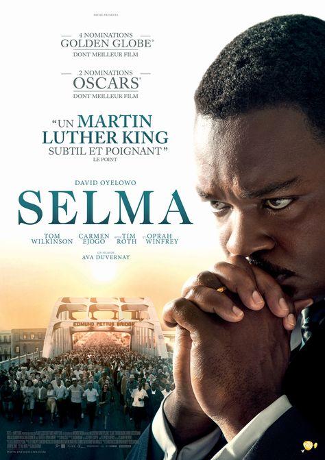 Selma est un film de Ava DuVernay avec David Oyelowo, Tom Wilkinson. Synopsis : Selma retrace la lutte historique du Dr Martin Luther King pour garantir le droit de vote à tous les citoyens. Une dangereuse et terrifiante campagne