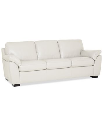 Furniture Lothan 87 White Leather Sofas White Leather Couch Leather Sofa
