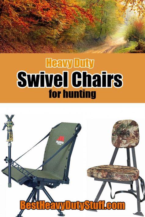 Cool 2019 Best Heavy Duty Swivel Hunting Chair Reviews Heavy Creativecarmelina Interior Chair Design Creativecarmelinacom