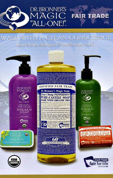 Dr. Bronner's Magic Soaps supports the #BeCrueltyFree Campaign and the #HumaneCosmeticsAct!