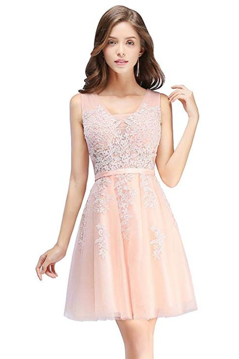 Damen Rosa Perlstickerei Spitze Applique Tull Scharpe Band Abendkleid Knielang Cocktailkleid Knielanges Kleid Aus Tull Mit G Ballkleid Abendkleid Cocktailkleid