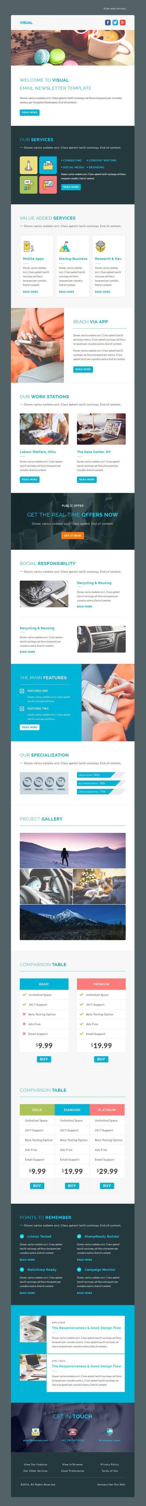 Visual - Multipurpose Responsive Email Template