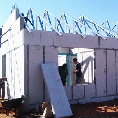 Expanded Polystyrene Styrofoam Sandwich Roof Precast Concrete Roof Trusses Roof Insulation