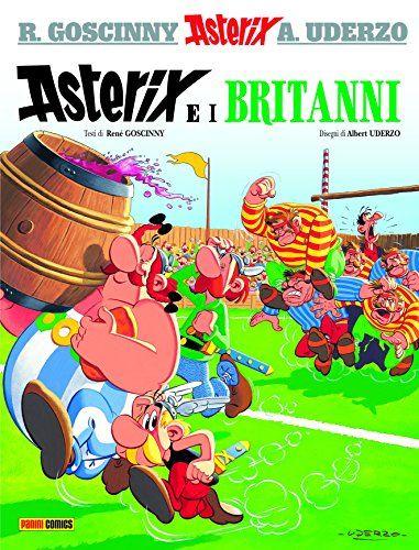 Scaricare Asterix E I Britanni 8 Pdf Gratis Stripboeken Boeken Stripkunst