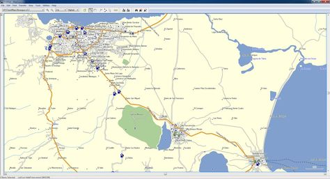 Nicaragua GPS Map Compatible With All Garmin GPS Devices - Nicaragua map download