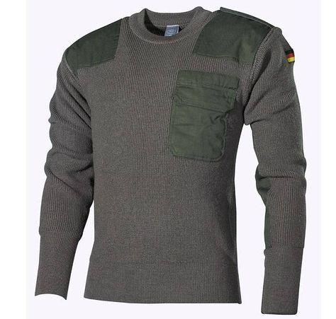 MFH BW Pullover, oliv / mehr Infos auf:  www.Guntia-Militaria-Shop.de