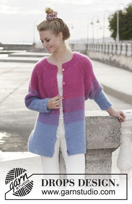 608b2a174 Blackberry Crush Cardigan Free Knitting Pattern | cardigan knitting ...