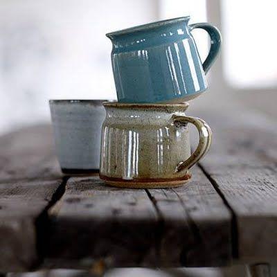 Fair Trade mugs from Bloomingville. www.bloomingville.com