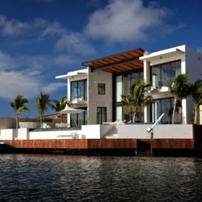Coastal House Design Luxury Glass And Stone Home Architecture Architecture House Interior Architecture Design