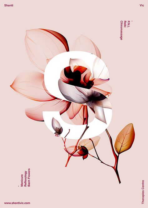 40 Floral Typography Designs that Combine Flowers & Text. A beautiful design trend that has emerged recently is the combination of flowers and text to produce elegant floral typography layouts. need to start working on my typography soon as.
