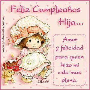 Imagenes De Cumpleanos Para Una Hija Especial Cumpleaños Hijo Feliz Cumpleaños Y Felicitaciones De Cumpleaños Hija