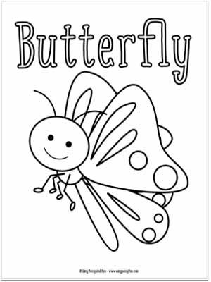 Little Bugs Coloring Pages For Kids Bug Coloring Pages Butterfly Coloring Page Coloring Pages Inspirational