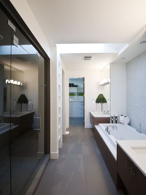 Smart Platzierung Schmalen Badezimmer Ideen Langes Schmales