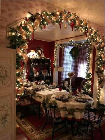 Fotos Casas Decoradas Navidad.4 Imagenes De Casas Decoradas En Navidad Elegantemente