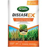 Scotts Diseaseex Lawn Fungicide 10 Lb Lawn Disease Prevention And Control For Brown Patch Yellow Patch Stem And Stri Fungicide Lawn Fertilizer Powdery Mildew