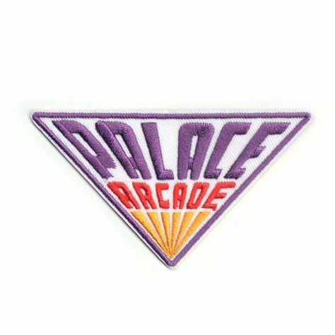 Stranger Things Palace Arcade Logo Iron On Patch