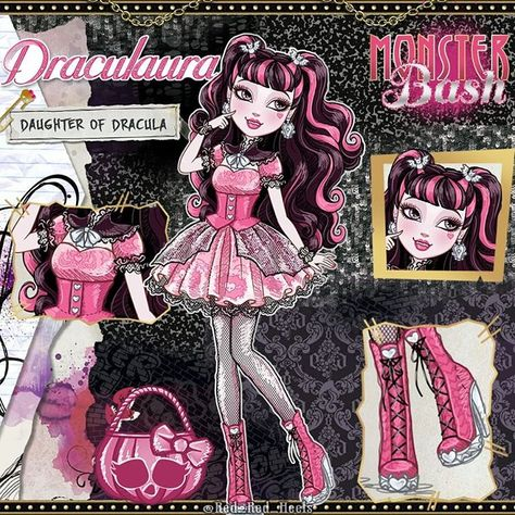Draculaura - Ever After High Version Ever After High, Monster High Art, Monster High Dolls, Monster High Desenho, Personajes Monster High, Homemade Face Paints, Ever After Dolls, Catty Noir, Fanarts Anime