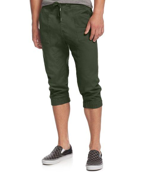 Oliviavan Mens Straight Jeans Solid Cotton Pocket Elastic Drawsting Patchwork Trousers Long Pants