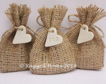 25 X Super Mini Favour Bags Twine Hessian Rustic Wedding Jute Gift Santa Sack 13 49 Inspiredcompany4u Pinterest Favor And Favours