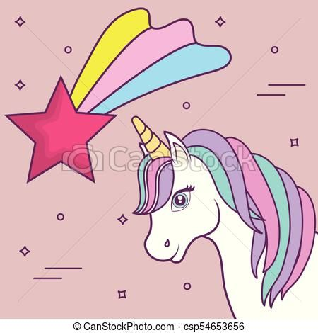 unicornios, diseño, mágico Vector - stock de ilustracion, ilustracion libre de, stock de iconos de clip art, logo, arte lineal, retrato de EPS, Retratos, gráficos, dibujos gráficos, dibujos, imágenes vectoriales, trabajo artístico, Arte Vectorial en EPS