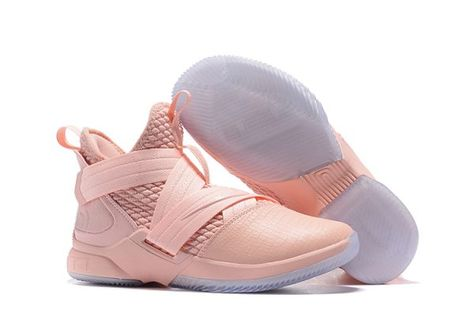 cc44d11e2ef Mens Nike LeBron Soldier 12 SFG EP Pink AO4055-900 For Sale-1