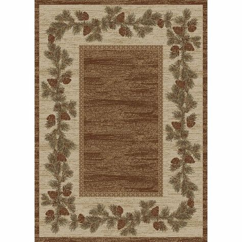 Lodge Rug Collection Olefin Face Jute Backing Neutal Colors Accent//Runner//Area