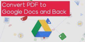 كيفية تحويل Pdf إلى Google Docs والعودة مرة أخرى Google Docs Chart Google