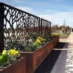 Source Corten Steel Decorative Perforated Metal Panels Used For
