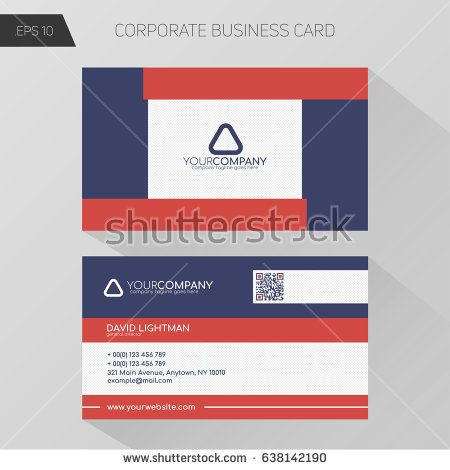 Best My Business Cards Images On Pinterest Business Card - Basic business card template